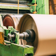 Paper Cutting Machine At Paper Mill. Detail - PhotoDune Item for Sale