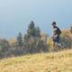 Running in autumn hills - PhotoDune Item for Sale