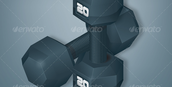 Dumbbells - Man-made Objects Objects