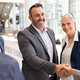 Business people shaking hands in meeting - PhotoDune Item for Sale
