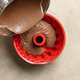pouring chocolate cake dough in silicone baking form - PhotoDune Item for Sale