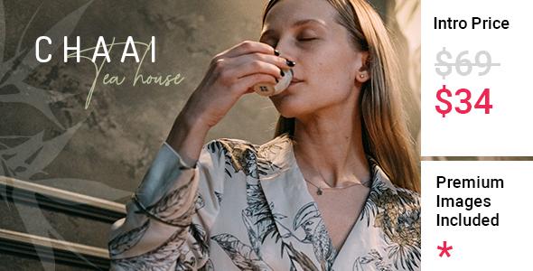 Download Chaai – Organic Tea Shop Theme Free Nulled