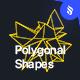 Polygonal Shapes Photoshop Brushes Set