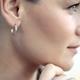 Beautiful Woman Wearing Gorgeous Earring - PhotoDune Item for Sale