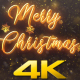 Merry Christmas Snow Crystal V2 - VideoHive Item for Sale