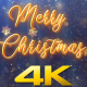 Merry Christmas Snow Crystal V3 - VideoHive Item for Sale