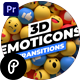 3D Emoticons Transitions for Premiere Pro - VideoHive Item for Sale