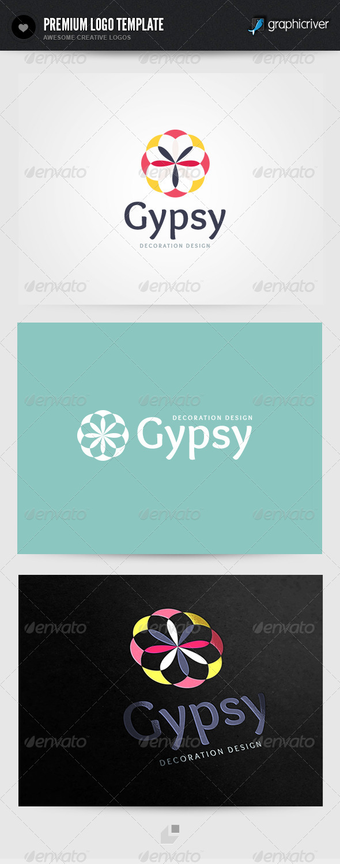 Gypsy Decoration Design Logo - Buildings Logo Templates