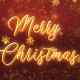 Merry Christmas Snow Crystal V1 - VideoHive Item for Sale