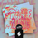 Trance Music Album Cover Artwork Template