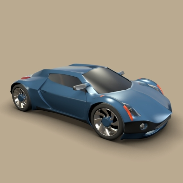 Conceptor x concept car - 3DOcean Item for Sale