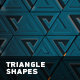 Abstract Background With Moving Triangle Shapes - VideoHive Item for Sale