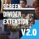 Multi Screen Split Divider Extension