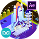 Transportation Isometric Animation | After Effects - VideoHive Item for Sale