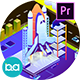 Transportation Isometric Animation | Premiere Pro MOGRT - VideoHive Item for Sale