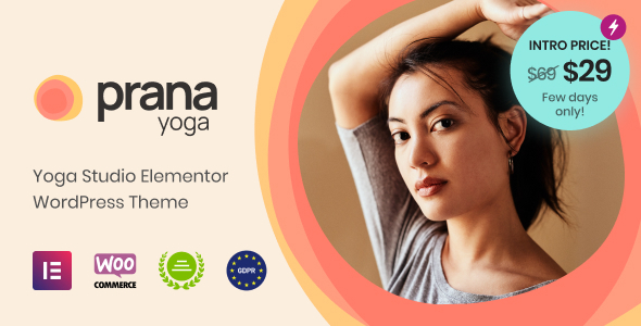 Download Prana Yoga – Theme for Elementor Free Nulled