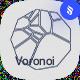 Voronoi Geometric Shapes Photoshop Brushes