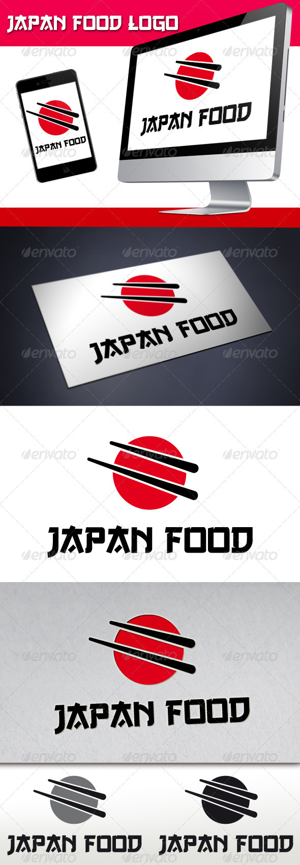 Japan Food Logo - Food Logo Templates