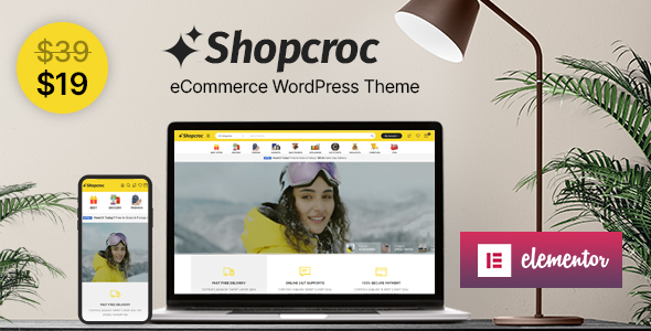 Download Shopcroc – WooCommerce WordPress Theme Free Nulled