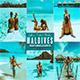 Maldive Photoshop Action & Lightrom Presets