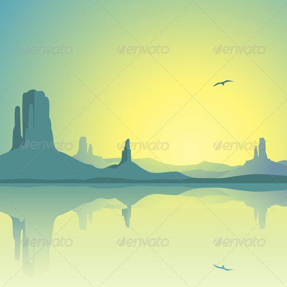 Desert Landscape - Landscapes Nature