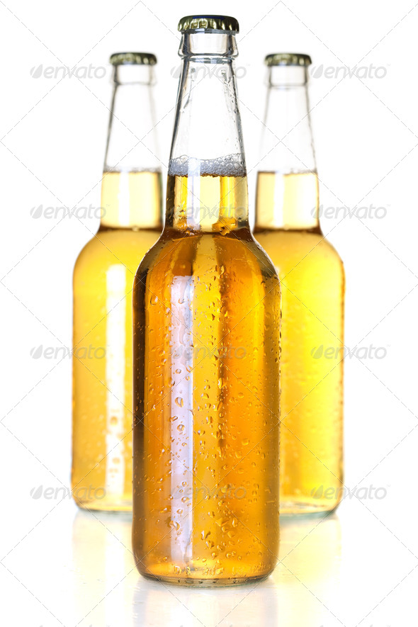 Beer bottles - Stock Photo - Images