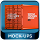 Shipping Container Mockup 001