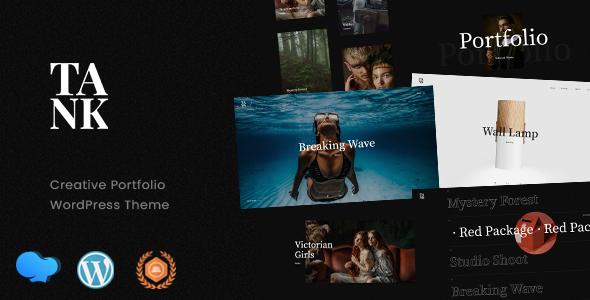 Download Tank – Creative Portfolio WordPress Theme Free Nulled