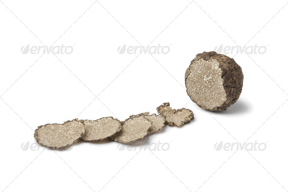 Black winter truffle - Stock Photo - Images
