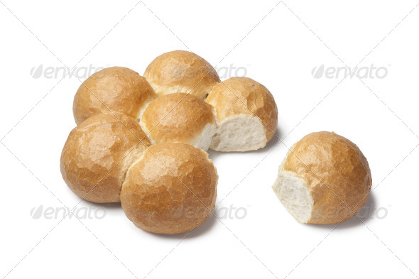 Turkish white flower bread - Stock Photo - Images