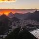 Beautiful panorama of Rio de Janeiro at twilight, Brazil. Sugarloaf Mountain - PhotoDune Item for Sale