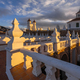 Rooftop of the Felipe Neri church at sunset in the city of Sucre, Bolivia - PhotoDune Item for Sale