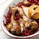 Chicken drumsticks fried with viburnum - PhotoDune Item for Sale