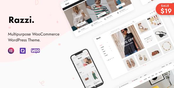Razzi - Multipurpose WooCommerce WordPress Theme