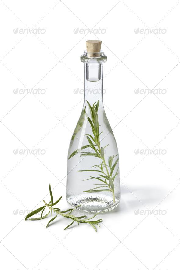 Tarragon vinegar - Stock Photo - Images