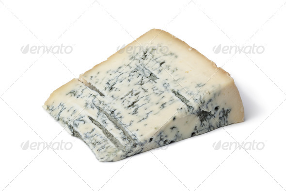 Portion Gorgonzola cheese - Stock Photo - Images