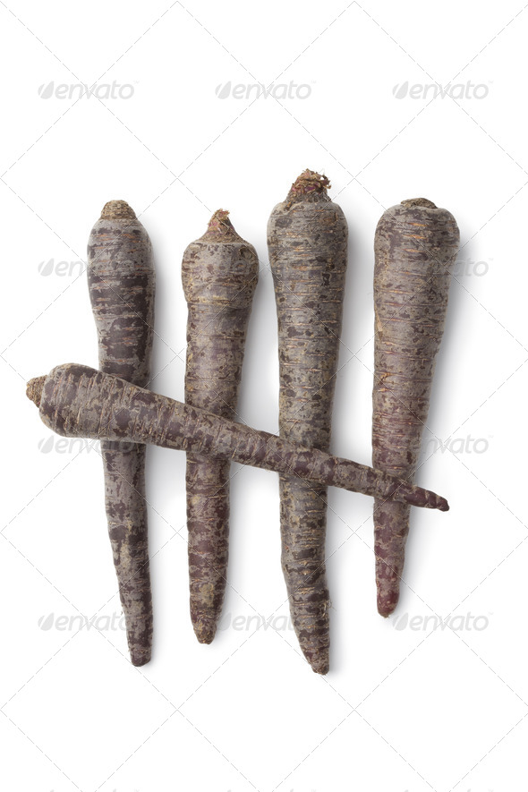 Black carrots - Stock Photo - Images