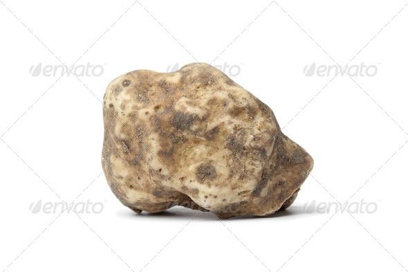 Whole single white truffle - Stock Photo - Images