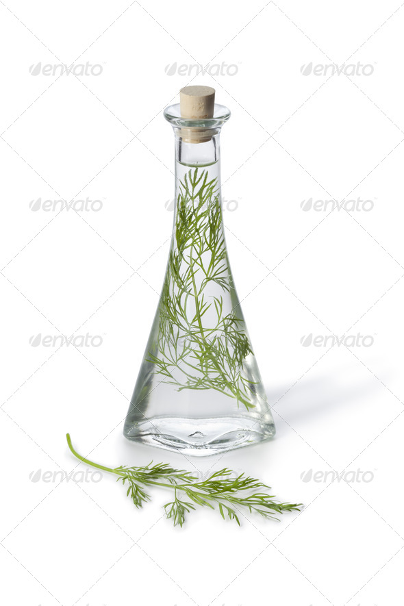 Dill vinegar - Stock Photo - Images