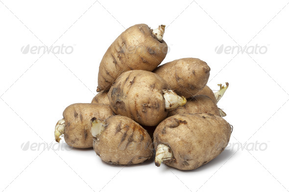 Turnip-rooted chervil - Stock Photo - Images