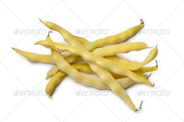 Yellow Waxbeans - Stock Photo - Images
