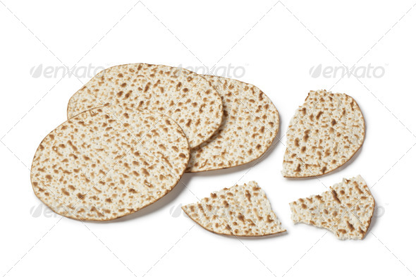 Fresh matzo - Stock Photo - Images