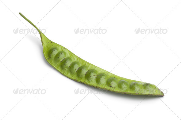 Whole fresh petai bean - Stock Photo - Images