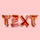 3D Game Logo Text Effect