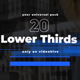 Modern Stripes Lower Thirds - VideoHive Item for Sale