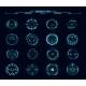 HUD Aim Control Target Round Frames Ui Interface