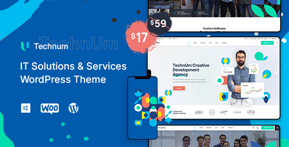 Download Technum | IT Solutions & Services WordPress Theme Free Nulled