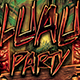 Luau Party Flyer