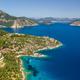 Beautiful summer landscape with rocky Mediterranean coast. Turkey, summer vacation - PhotoDune Item for Sale