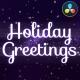 Holiday Magic Greetings   DaVinci Resolve - VideoHive Item for Sale